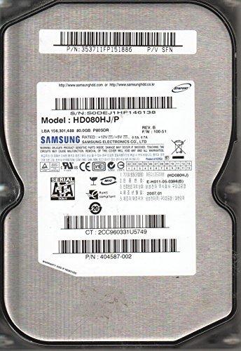 , FW 100-51, P/V SFN, Samsung 80GB SATA 3.5 Hard Drive (80gb Ata 100 Hard Drive)