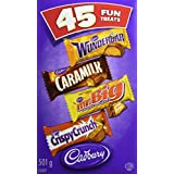 Cadbury Fun Treats Chocolate, 45 Count