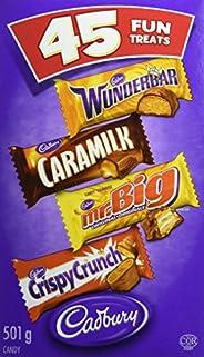 CADBURY Assorted Fun Treats - 501 g (Mixed pack of 45)