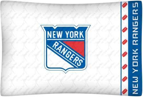 Sports Pillowcase (NHL New York Rangers Micro Fiber Pillow Case)