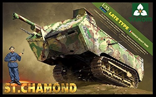 Takom 1:35 French Heavy Tank St Chamond (TAK2012) by Takom