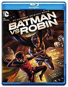 Cover Image for 'Batman vs. Robin (Blu-ray + DVD + Digital HD UltraViolet Combo Pack)'
