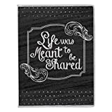 Pioneer Photo Albums FC-146C Chalkboard Flexible Cover Photo Album, Shared