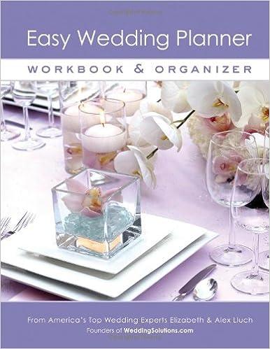 buy easy wedding planner workbook organizer book online at low