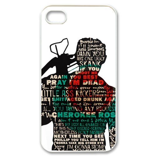 [Daryl Dixon Norman in The Walking Dead Protective Hard Case Cover Skin for Apple iPhone 4/4s- 1 Pack - Black/White - 5- Perfect Gift for] (Daryl Dixon Costumes)