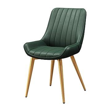 RXBFD chair Sedia nordica in Pelle PU, Sedia da Pranzo con ...