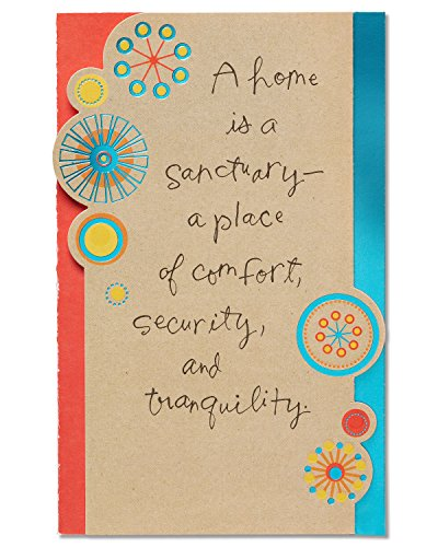 American Greetings Sanctuary New Home Congratulations Card with -
