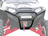 SuperATV Polaris RZR 800 / XC / S / 4 / 900 Sport Front Bumper - Wrinkle Black