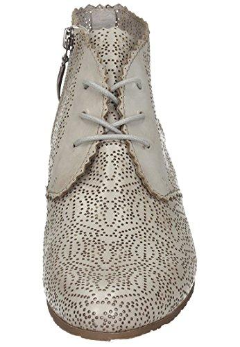 Piazza Piazza Damen Stiefelette - Botas de Piel para mujer gris gris gris