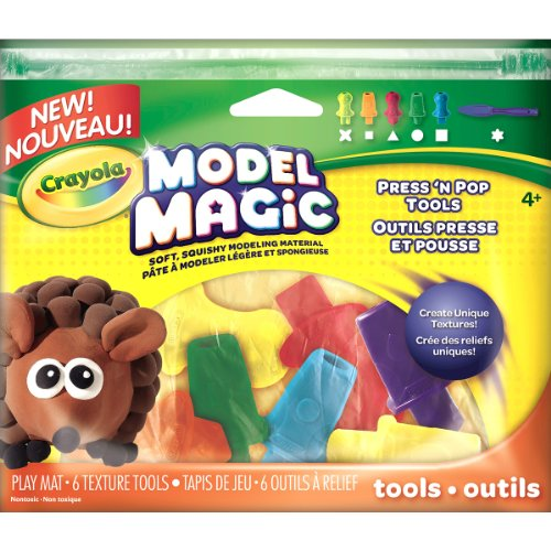 Crayola Model Magic Press N Pop Texture ()