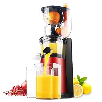 XWH Máquina automática de Jugo, máquina de Jugo de Gran diámetro, máquina de Leche de SOYA Multifuncional doméstica, exprimidor,Rojo,Cm: Amazon.es: Deportes ...