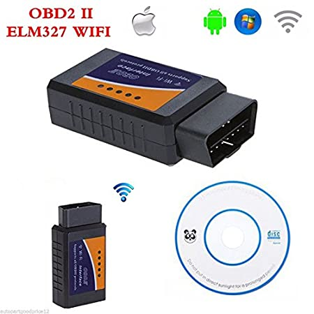 OBD2 OBDII Car Auto Diagnostic Scanner Adapter Reader for iPhone 4S