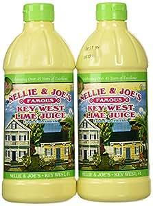 Nellie & Joes Juice Key West Lime, 2 Pack