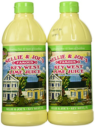 Nellie & Joes Juice Key West Lime, 2 Pack (16 ounces)