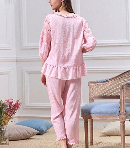 2017 Sra. Pijama De Verano Pink