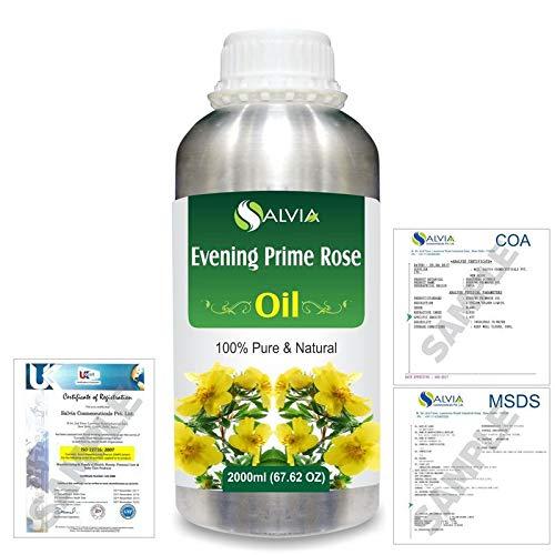 Evening Primrose Pure Natural Oil 2000ml/67.6 fl. oz. Express Shipping