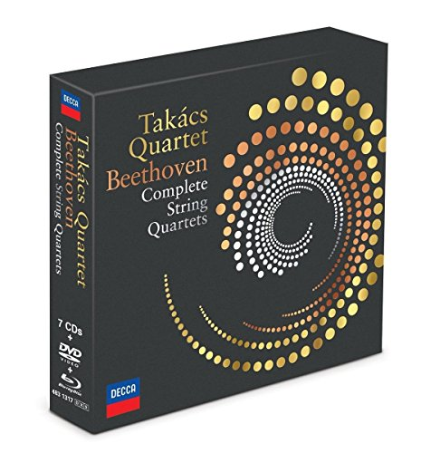 Beethoven: The Complete String Quartets [7 CD/Blu-Ray Audio/DVD]