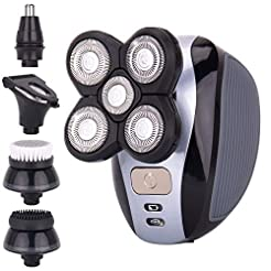 Men's 5-in-1 Electric Shaver & Grooming ...