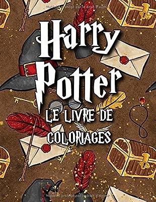 Harry Potter Le Livre De Coloriages French Edition Perrin