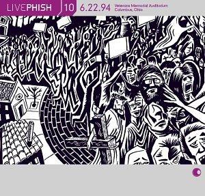 Live Phish Vol. 10: 6/22/94, Veterans Memorial Auditorium, Columbus, Ohio by Elektra / Wea