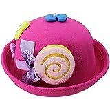 Cute Baby Woolen Hat Children Bucket Hat Bowler Hat...