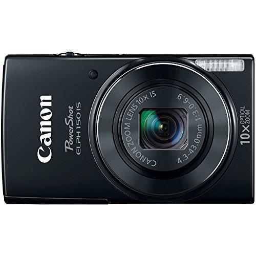Canon PowerShot ELPH-150 IS Digital Camera (Black) [並行輸入品]   B07H5F1K1F