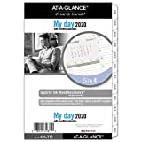 AT-A-GLANCE 2020 Refill, Day Runner, 5-1/2' x 8-1/2', Desk Size 4, Loose Leaf, Two Page Per Day (481-225)
