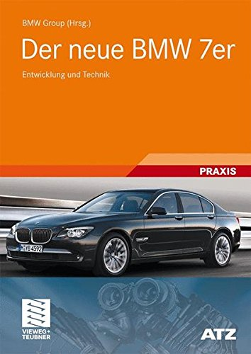 Der Neue BMW 7er  Entwicklung Und Technik  ATZ MTZ Typenbuch