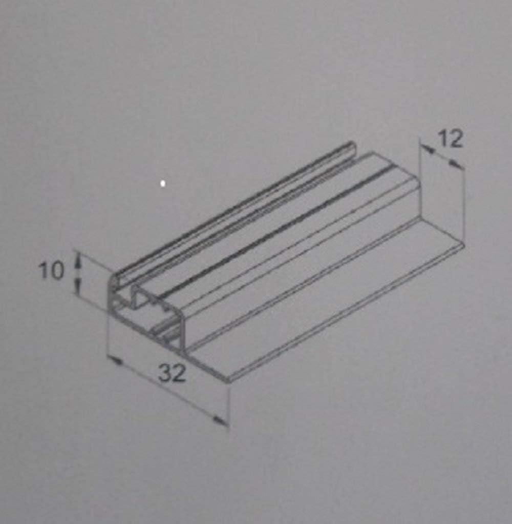 80cm x 100cm, 8 Stk 13mm Winkel Better View bessere Durchsicht- optimal f/ür Roll/äden Fliegengitter- Fenster- M/ücken- Insektenschutz- Alu- WEISS