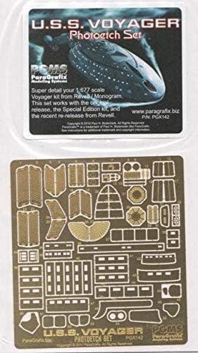 Star Trek PGX142 1:677 Scale Voyager Photoetch Set