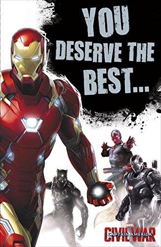 Amazon Captain America Civil War Team Iron Man Birthday Card