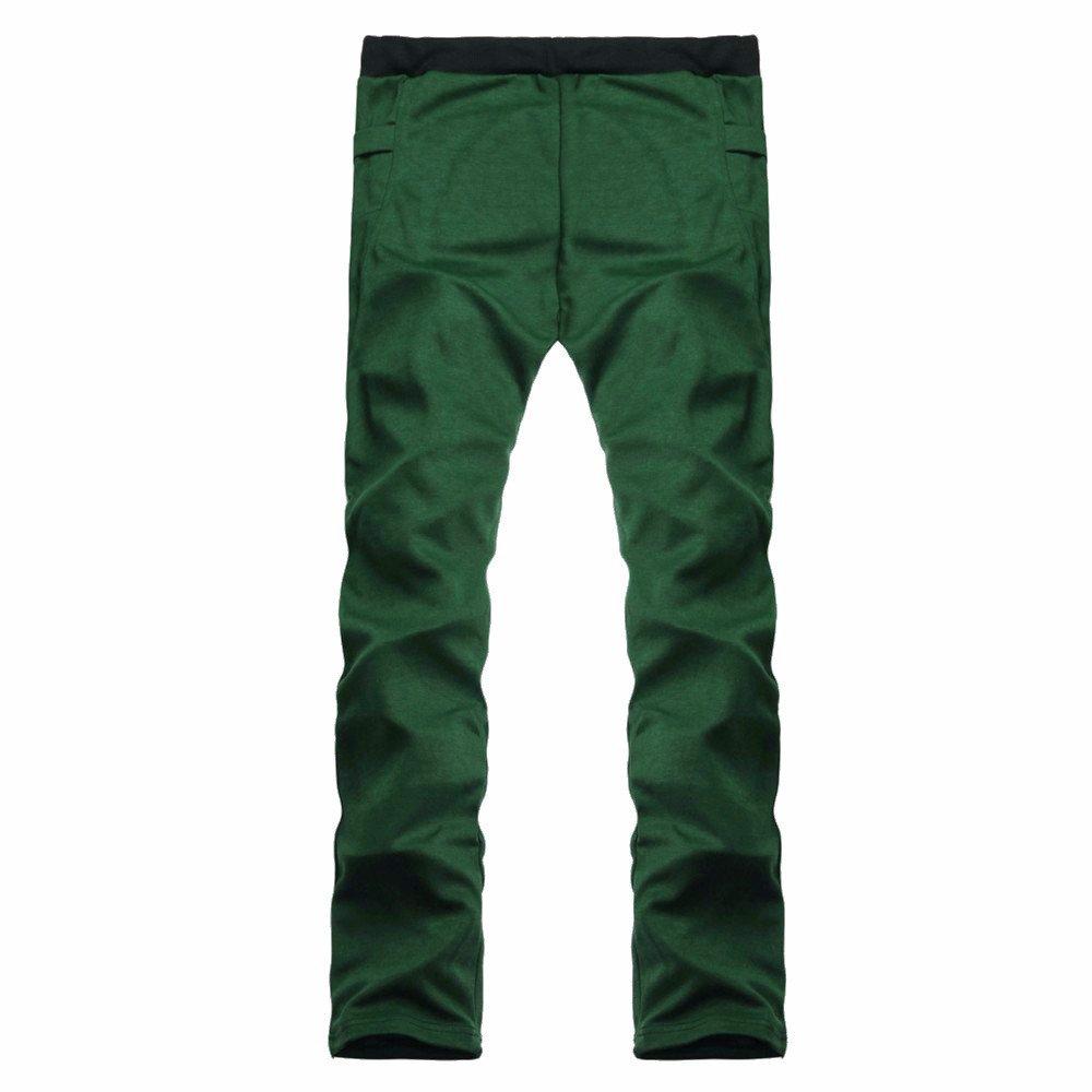 JMETRIC_pants Pantalones de Running para Hombre de Color Liso ...