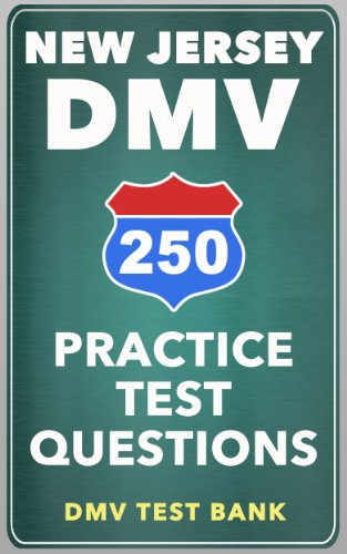 250 New Jersey DMV Practice Test Questions