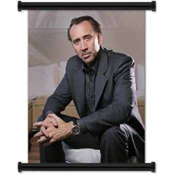 Amazon.com: Nicolas Cage Sexy tela Póster de desplazamiento ...