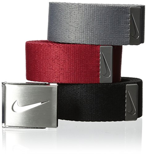 Nike Men's 3-In-1 Web Pack, Black/Grey/Varsity Red, One Size (1 1 Web)