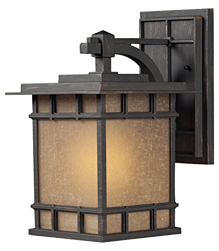 Newlton 1 Light LED Outdoor Sconce in Weathered Charcoal ()