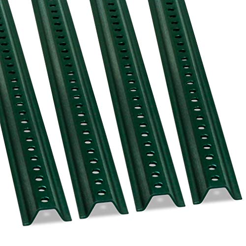 - U-Channel Sign Post by SmartSign, Medium Weight | 8' Tall Baked Enamel Steel Post - Pack of 4