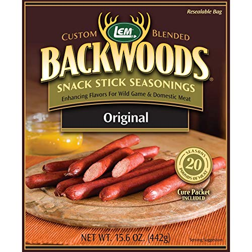 LEM Backwoods Snack Stick Seasoning with Cure Packet ()