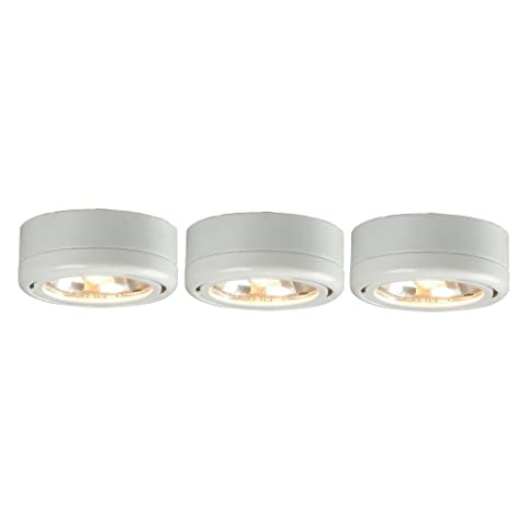 Hampton bay ec5930wh 3 light white round under cabinet halogen hampton bay ec5930wh 3 light white round under cabinet halogen lights audiocablefo