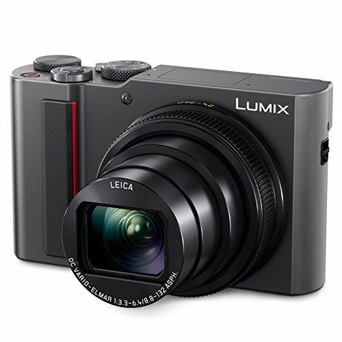 PANASONIC LUMIX ZS200 15X Leica DC Lens with Stabilization, 20.1 Megapixel, Large 1 inch Low Light Sensor (DC-ZS200S USA Silver) ()