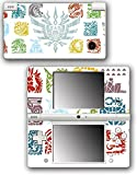 Monster Hunter 4 Ultimate Generations Stories Video Game Vinyl Decal Skin Sticker Cover for Nintendo DSi System