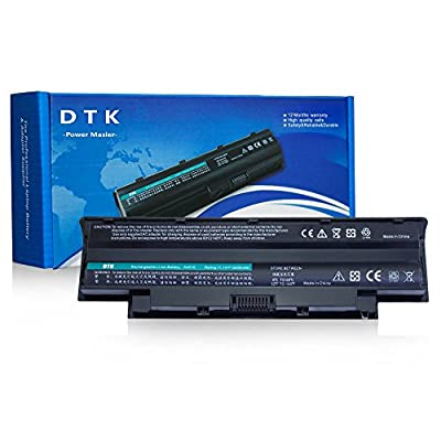 Dtk® New Laptop Battery for Dell Inspiron 3420 3520 15r 17r 14r 13r N5110 N5010 N4110 N4010 N7110 N3010 M5110 M4110 M501 M503 Series, Fits P/n J1knd 4t7jn [6-cell 5200mah/49wh] from DTK