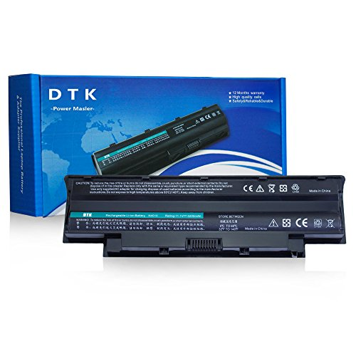 Dtk® New Laptop Battery for Dell Inspiron 3420 3520 15r 17r 14r 13r N5110 N5010 N4110 N4010 N7110 N3010 M5110 M4110 M501 M503 Series, Fits P/n J1knd 4t7jn [6-cell 5200mah/49wh] (Dell Inspiron 14r Battery compare prices)