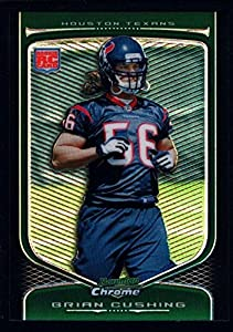 Brian Cushing Texans Rookie Refractor Mint Rc 2009 Bowman Chrome Seahawks Usc
