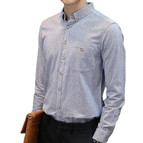アイデア主要な飽和するシャツ メンズ 長袖シャツ 無地 春 夏 秋 シャツ 綿高率 ワイシャツ おしゃれ ビジネス カジュアル