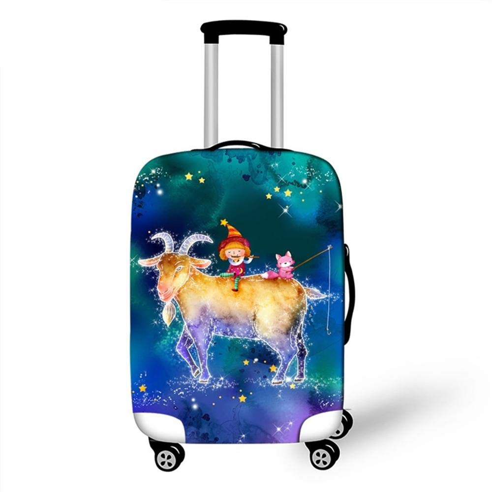 Travel Accessories Thicken Colored Fruit Luggage Case Protective Cover Waterproof Fashion Elastic Suitcase Cover Apply 18-32Inch 11, M
