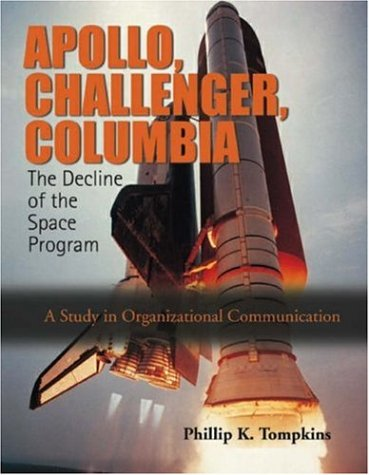 Apollo, Challenger, and Columbia: The Decline of the Space Program (A Study in Organizational Communication)