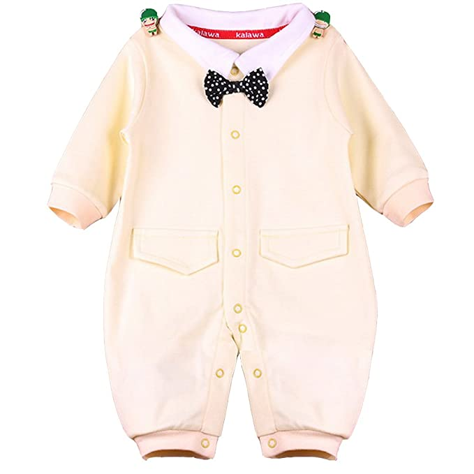 Babynice - Pelele - Manga Larga - para bebé niño Amarillo 0-3 Meses