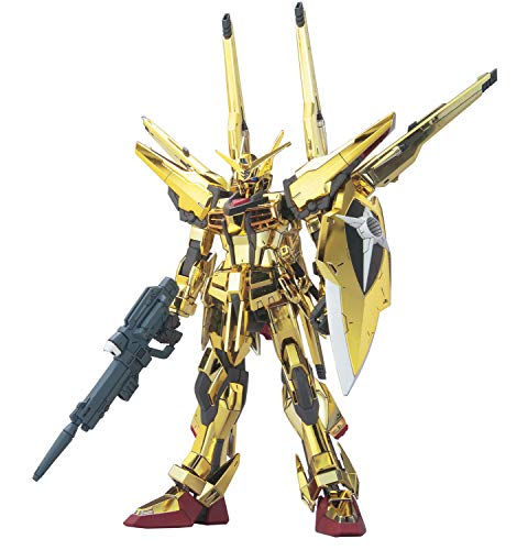 Mobile Suit Gundam Seed Destiny 1/100 Akatsuki Gundam Oowashi/Shiranui Full Set Plastic ()