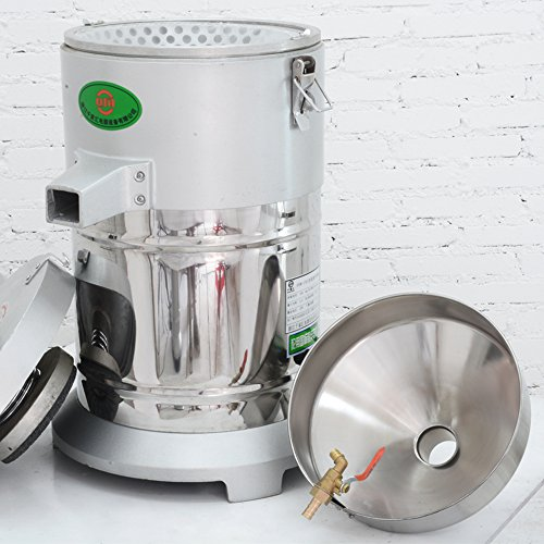 Commercial aluminum alloy Healthy Nutrition Soymilk Maker Commercial large Soymilk Maker Soybean Milk machine Electric fiberizer Automatic Soya Milk and Dregs separater Splitter 150kg/h by CGOLDENWALL (Image #3)'